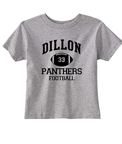 NorthStarTees Friday Night Lights Toddler Dillon Panthers T-Shirt (4T, Heather Gray)