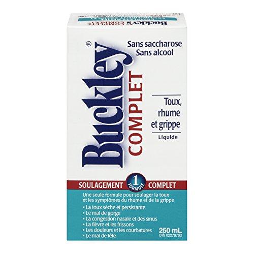Original 'Completo' jarabe BUCKLEY para tos grandes 250 ml tamaño
