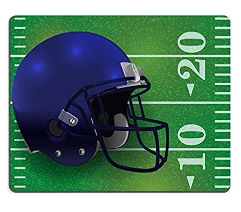 Liili Natural Rubber Mouse Pad An American Football helmet on a realistic textured field background Vector EPS 10 available EPS file IMAGE ID (Ottoman Helmet)