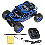 Remote Control Car RC Buggy - 4 WD 2.4Ghz Off-Road Racing Truck 1:12 RC Car with 2 Rechargeable Battery