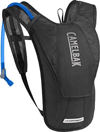 CamelBak HydroBak Crux Reservoir Hydration Pack, Black/Graphite, 1.5 L/50 oz