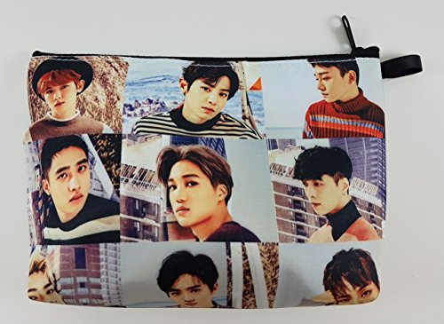 EXO FROM EXO PLANET KPOP BIG Zip Pen Pencil Stationery / Cosmetic Makeup Case Bag Pouch - Music Box Anne