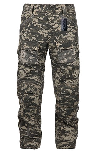 Uniform Trouser (ZAPT Tactical Ripstop Combat Pants with Knee Protector Airsoft Paintball Military Camo Uniform Army Camouflage Trousers (ACU, 38))
