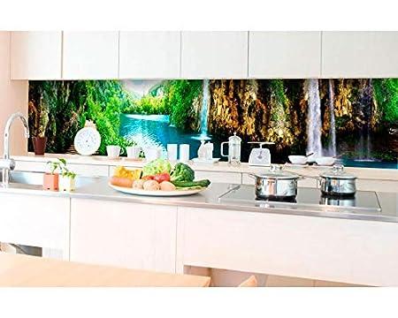 Kuchenruckwand Folie Selbstklebend Entspannung Im Wald 350 X 60 Cm