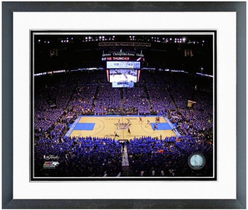 Okc Thunder Chesapeake Energy Arena Nba Photo 12 5  X 15 5  Framed