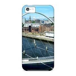 Hot DwP3142JIRw Gateshead Millennium Bridge Tpu Case Cover Compatible With Iphone 5c by lolosakes