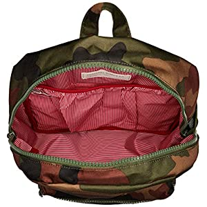 Herschel Kids' Heritage Youth XL Children's Backpack, Woodland Camo/Army Rubber, One Size