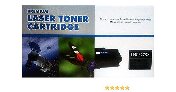 Toner compatible HP CF279X Alta capacidad negro con Laserjet Pro M 12A MFP M26A MFP M26NW M12W