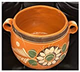 Authentic Mexican Barro Olla Jarro De Tonala Bola Grande Mexicana Jarrito Para Frijol Frijoles Sopas Boiling Beans Chilis Soup Clay Pot Lead Free