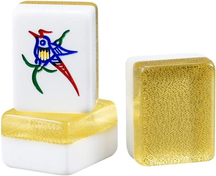 Mahjong Mahjong Juego con Mah Jong Tabla Tradicional Juego de Mahjong Profesional Tradicional China Conjunto Inicio Entretenimiento Juegos (Color, Size : 39MM): Amazon.es: Hogar