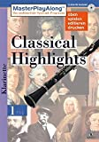 MasterPlayAlong, Classical Highlights 1, CD-ROMs : Klarinette, 1 CD-ROM Für Windows 95/98