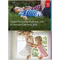 Adobe Photoshop Elements & Premiere 2018 Mac + Software