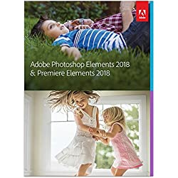Adobe Photoshop Elements 2018 & Premiere Elements 2018 - No Subscription Required