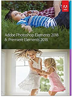 Adobe Photoshop Elements 2018 & Premiere Elements 2018 (B0752XSBGX) | Amazon Products