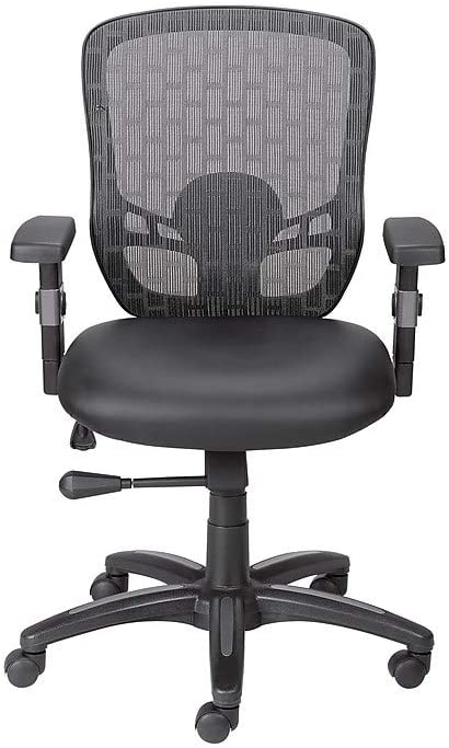 Staples 934100 Corvair Luxura Mesh Back Task Chair Black