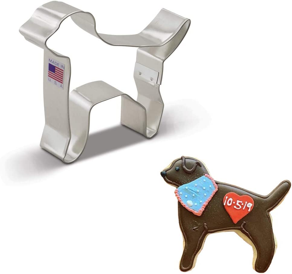 Ann Clark Cookie Cutters Labrador Dog Cookie Cutter, 4.4