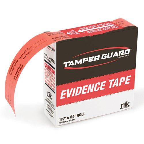 NIK Public Safety Tamper Guard Evidence Tape