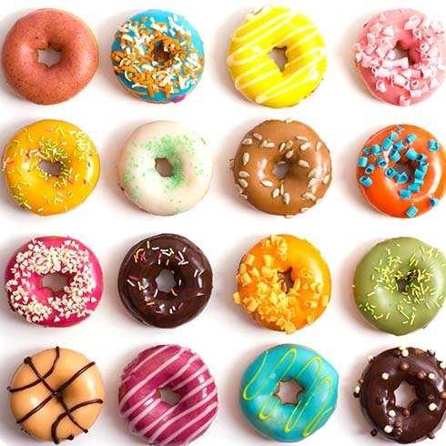 Webake Extra Thick Donut Pan 12-cavity 2.8'' Non-stick Medium Size (Donut pan) by Webake (Image #3)