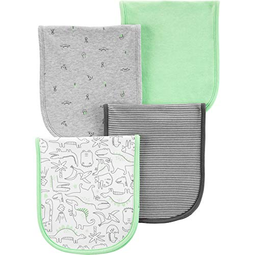 (Carter's Baby Boy 4-Pack Burp Cloths)