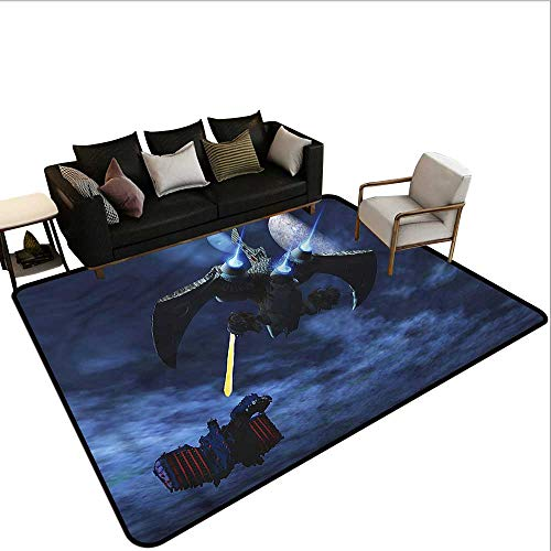 Galaxy,Dining Table Rugs 24