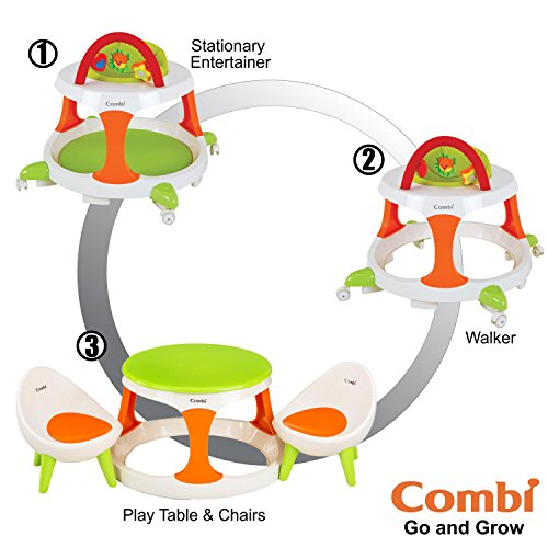 Combi Walker Table Chairs Green