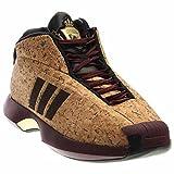 the latest e9353 cea2f adidas Performance Mens Crazy 1 Basketball Shoe, MaroonBlackMatte Gold,  8.5 M US