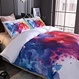 Meeting Story 3Pcs 3D Abstract Printed Duvet