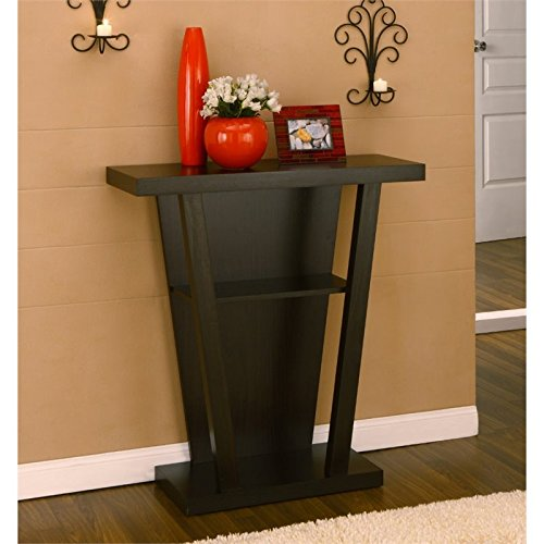 y Way/Console Table, Cappuccino (Furntiure Living Room Furniture)
