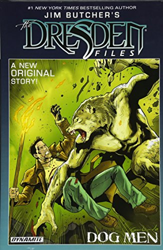 Book cover from Jim Butcher's The Dresden Files: Dog Men by Jim Butcher