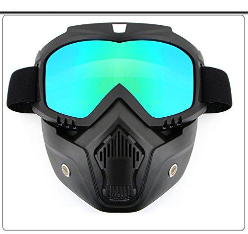 ircoo Ski Snowboard Snow Goggles for Men Women - Magnetic Interchangeable lenses, Anti-fog, 100% UV Protection, Helmet Compatible Snow Goggles for Men & Women, Free Balaclava Ski Mask - Interchangeable Oakley Lenses Goggles