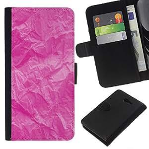 Planetar® Modelo colorido cuero carpeta tirón caso cubierta piel Holster Funda protección Para Sony Xperia M2 / M2 dual ( Arrugado patrón rústico Montañas)