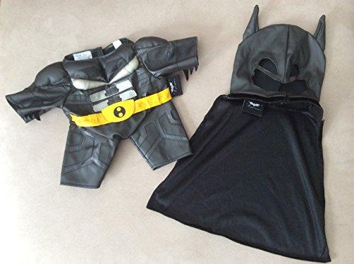 Build a Bear Workshop, Batman Costume 3 pc. - Teddy Bear Clothing]()