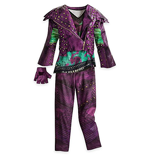 Disney Mal Costume for Kids - Descendants 2 Size -
