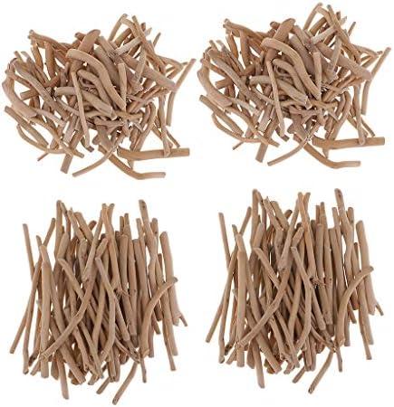 dailymall 約500g入り 木の枝 木の棒 ウッドチップ 流木 枝 木材スティック ウッドスティック 木工 材料