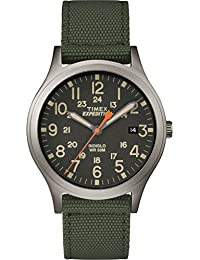 Unisex TW4B13900 Expedition Scout 36 Green/Black Nylon Strap Watch