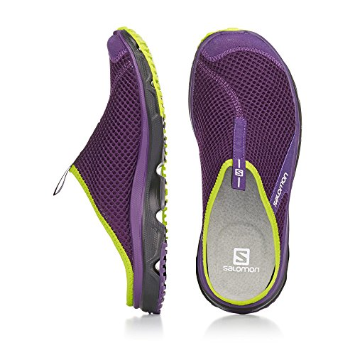 Salomon 3 Slide Women's Purple 0 Rx Clogs qHFUqf4