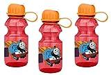3-Pack Thomas the Tank Engine 14oz Tritan Sipper Water Bottle, BPA-free