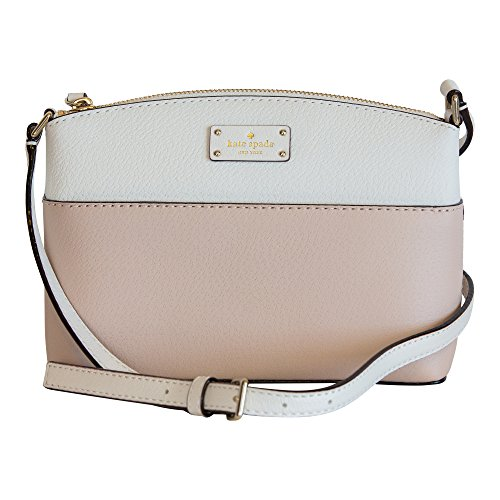 Kate Spade New York Grove Street Millie Leather Shoulder Handbag Purse (Rosecloud/Cement) ()