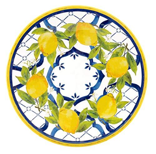Le Cadeaux Palermo - Melamine Salad Plates - Set of 4