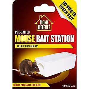 Scotts Miracle-Gro casa defensa cebo ratón estaciones de cebo