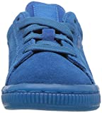 PUMA Kids' Suede Iced Sneaker,Mykonos Blue,8 M US