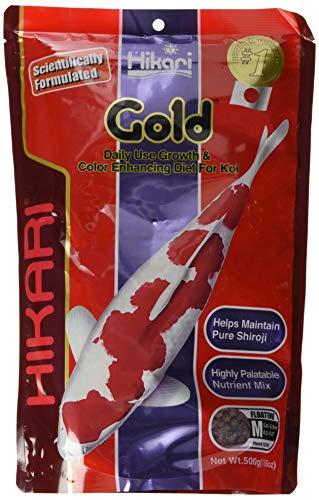 Hikari Usa Inc AHK02342 Gold 17.6-Ounce, - Food Premium Choice Fish