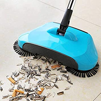 Panth Automatic Floor Sweeper Rotating Broom Reg Sweeping Broom Indoor Sweeping Machine Push Sweeping Machine Automatic Sweeper Broom Household Without Electricity Vacuum Cleaners Amazon In Health Personal Care