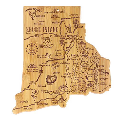 Island State Destination Bamboo Serving and Cutting Board ()