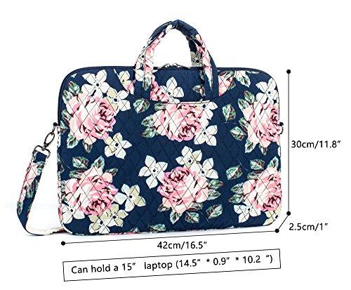 Leaper Bag Laptop 15 Inch Messenger Shoulder Fashion Case For Black Sleeve wrfEqw5