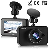 SoarOwl Dash Cam 1080P Car Dashboard Camera Recorder 3.0 Screen Car DVR Vehicle with Sony Sensor 6G Lens, 170 Degree Wide Angle, G-Sensor, WDR, Night Vision, Loop Recording