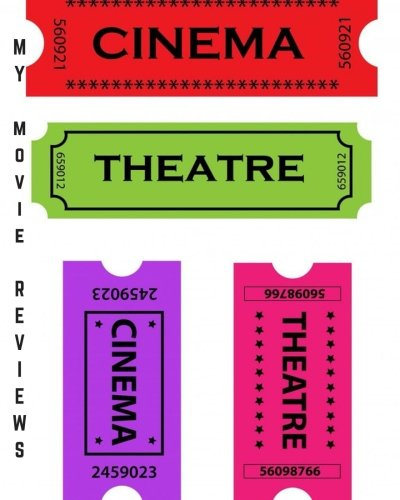 """Download My Movie Reviews: Ticket Stub Design  Perfect Gift for Movie Lovers  Movie Journal Film Log  Keep A record Of All The Movies You Have Watched & ...  8 x 10"""" Large (Film Reviews) (Volume 11) pdf epub"""