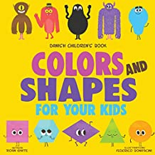 Danish Children's Book: Colors and Shapes for Your Kids