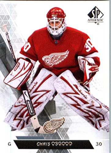 2014 Upper Deck SP Authentic Hockey Card (2013-14) #9 Chris Osgood - Detroit Red Wings MINT