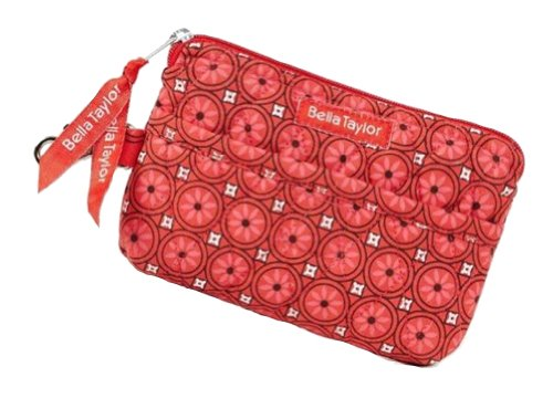 Bella Taylor Poppy Plaid Quilted Cotton Gadget Pouch ()